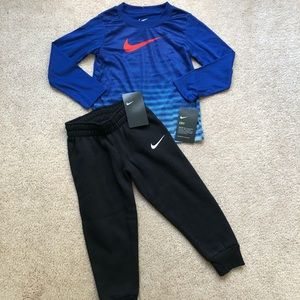 3t toddler boy Nike Outfit NWT